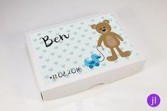 Weiteres - Geldgeschenk zur Geburt (Boy-Bear) - ein Designerstück von…