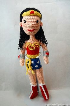 I need to find a knitting pattern for this! how did they get this pattern of me being wonder woman!