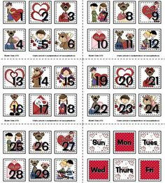 Sailing Through 1st Grade: Seasonal Calendar Numbers for Pocket Chart