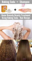 Remedy to Restore Hair Using Baking Soda
