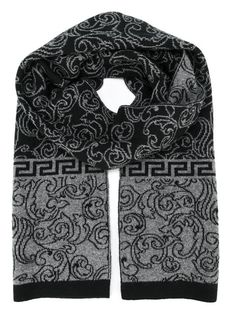 Shop designer scarves for women at Farfetch for warmth and style. Shop oversized, knitted, silky and logo scarves from Alexander McQueen, Fendi, Burberry and many more. Versace Scarf, Versace Versace, Fly Gear, Leopard Print Scarf, Mens Winter, Cravat, Designer Scarves, Men Clothes, Bowties