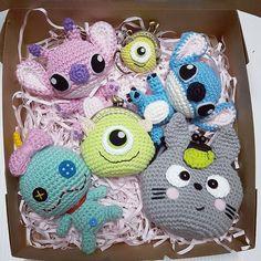 ❤❤❤ #crocheteveryday #crochetdoll #crochet #amigurumi #amigurumis #amigurumilove #cutedoll #cute #handmade #handicraft #craft #doll #gift #work #hobby #scrump #st#totoro #coinpurse #purse #mikewazowski