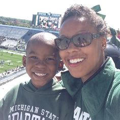 We out'chea! #gogreen #msufootball #msuspartans #Padgram