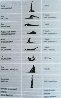 Samoliečba – 10 minútová zostava jógy.