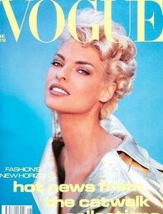 Vintage Vogue magazine covers - mylusciouslife.com - Vogue Cover Aug91 - linda.jpg