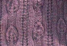 Lace Leaf and Eyelet Vertical Pattern Knit Stitch. Lacy leaf or candle flame, looks like both. Pretty lace knitting stitch to try. Lace Knitting Stitches, Cable Knitting Patterns, Christmas Knitting Patterns, Knit Patterns, Free Knitting, Knitting Projects, Knitting Tutorials, Knitted Flowers, Knitting Accessories