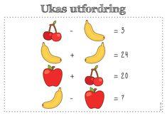 frk linn: Søkeresultat for Ukas utfordring Number Puzzles, Maths Puzzles, Math Talk, Math Problem Solving, Brain Teasers, Fun Math, Viria, Teacher, Education