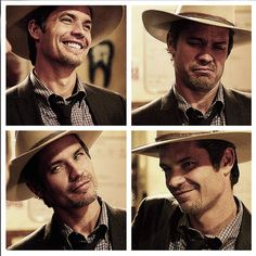 Raylan....waiting for the return of justified....getting very bored with tv without my shows........
