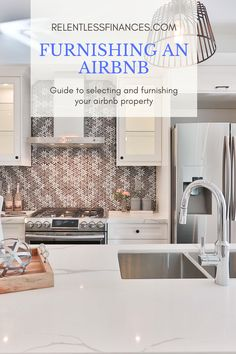Learn how to furnish your airbnb using this straightforward guide Discount Furniture, Online Furniture, Cool Furniture, Airbnb Design, Airbnb House, Air Bnb, Blue Heron, Decor Room, Rental Property