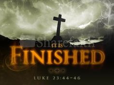 It Is Finished Church PowerPoint for Easter. #Sharefaith #Easter #EasterMedia #Faith #ChurchMedia