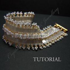 Silky Tila Bead Bracelet Tutorial by Crystalstargems on Etsy, £4.25