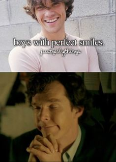 Just Sherly Things- Perfect Smile did they just compare Sam Winchester with Sherlock? <--I'm more shocked that Sam Winchester ended up on a hipster post. Not good at all<-- gosh, that is Jared!