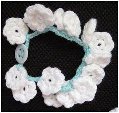 More Great Yarn Crochet Bracelet Tutorials