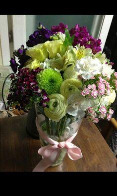 Vase arrange  남대문꽃시장 다녀와보기