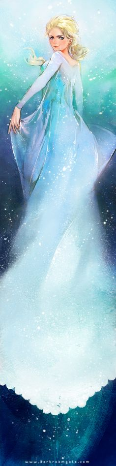 Frozen by Haining-art.deviantart.com on @deviantART