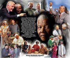 Nelson Mandela by Wishum Gregory   The Black Art Depot