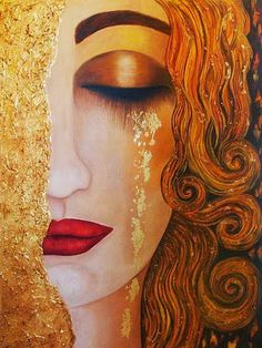 golden tears by klimt - Google Search