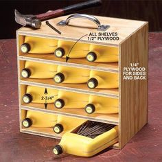 Lots of ingenious workshop organization ideas! No words…....... More Amazing #Woodworking Projects, Tips & Techniques at ►►► http://www.woodworkerz.com