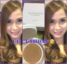 #NLIGHTEN Exclusive from #NWORLD NWORLD's 15 in 1 Perfect-Makeup (NLIGHTEN CC CUSHION) -NET WT. 15g  1) Helps Protect skin from harmful UVA and UVB rays 2) Sunscreen with SPF50 3) Skin tone corrector 4) Concealer 5) Moisturizer 6) helps control oil 7) Helps in nourishing your skin 8) Water proof and long lasting makeup effect. 9) Helps Lighten blemishes 10) Helps reduce wrinkles 11) Helps in Improve Skin elasticity 12) Helps Reduce Fines lines 13) Helps Whiten skin 14) Natural Beauty…