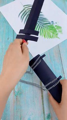 Cool Paper Crafts, Diy Crafts To Do, Paper Crafts Origami, Diy Crafts Hacks, Diy Arts And Crafts, Cute Crafts, Diy Craft Projects, 3d Art Projects, Fabric Crafts