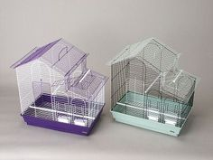 BIRD - CAGES: MEDIUM BIRDS - TIEL CAGE 23X15X24 - 2/CASE - PREVUE PET PRODUCTS, INC - UPC: 48081416150 - DEPT: BIRD PRODUCTS