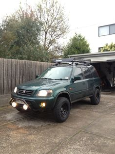 rd1 lifted. roof rack