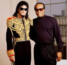 """MJ with Bobby Womack: """"What an honor it was to shoot the legend, Bobby Womack, for his album """"Save The Children back"""" in 1989. Growing up on RB music made this shoot extra special, and the fact that he was amazingly nice and super cool made the experience so much better. We shot at a studio in Hollywood, while next door, Annie Leibovitz was shooting for Vanity Fair. That's all I knew."""" -Chris Cuffaro"""