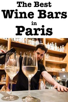 Taking time to drink wine in Paris is a must during any visit to France's magical city of lights. Check out more than a dozen Paris wine bars that you will love both for their wine selections and hip vibes.   Paris   France   Natural Wine   French Wine   Paris Wine   Wine in Paris Paris Restaurants, Paris Hotels, Tapas Dishes, Paris Food, Wine Bars, Paris Travel Guide, Organic Wine, Drinking Around The World