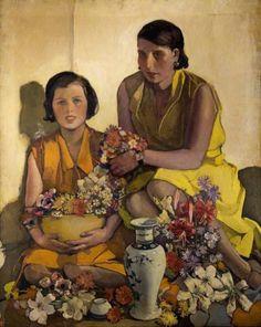 Norah Neilson Gray, Self-portrait, 1918 Norah Neilson Gray, Salopian Cup and Chinese Vase Norah Neilson Gray, Little Brother Glasgow Girls, Glasgow Museum, Art Deco, Portraits, Portrait Paintings, Art Uk, Your Paintings, Figure Painting, Artist Art
