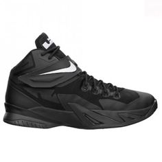 Chaussures Nike ZOOM Lebron Soldier 8 noires pour Homme - 653641-001
