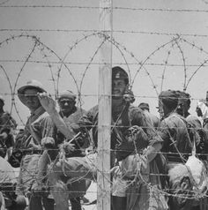 German and Italian soldiers taken prisoner by the British 8th Army, 1942