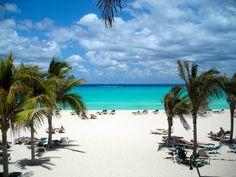 Riu Yucatan, Mexico - the spot where we were married