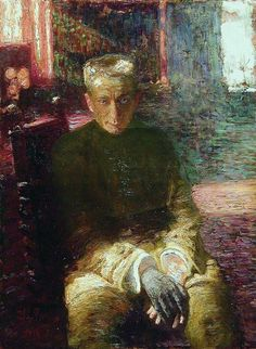 Portrait of the Actor Pavel Samoylov, 1915 by Ilya Repin. / Bakhrushin State Central Theater Museum, Moscow, Russia