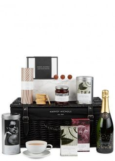 Find the perfect gift at Harvey Nichols with our range of food, condiment and alcohol sets. Our range also includes a number of high quality beauty gifts. Peppermint Herb, Strawberry Preserves, Finger Sandwiches, Spoil Yourself, Coffee Packaging, Harvey Nichols, Afternoon Tea, Wine Recipes, Truffles