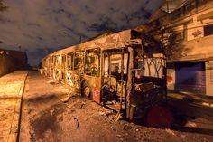 #Polícia: Ônibus é incendiado após morte de homem em troca de tiros com PMs na zona sul de SP