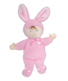 Loving this Pink Little Princess Baby Bunny on #zulily! #zulilyfinds