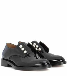 Masculine Pearls patent leather derby shoes | Givenchy