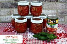 Stuffed Anaheim Peppers, Stuffed Jalapeno Peppers, Green Chili Recipes, Mexican Food Recipes, Fun Recipes, Mexican Dishes, Recipe Ideas, Canning Tomatoes, Canning Vegetables