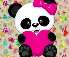 Ckren uploaded this image to 'Animales/Osos Panda'. See the album on Photobucket. Panda Bebe, Cute Panda, Bolo Panda, Panda Birthday, Panda Wallpapers, Anime Muslim, Pink Panda, Wallpaper Iphone Cute, Cute Drawings