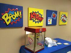 Super Hero Teacher Appreciation Week