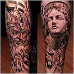 As incríveis tatuagens de Jun Cha   Pipoqueiro