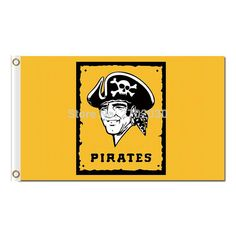 #YELLOW #PITTSBURGH #PIRATES #FLAG #WORLD #SERIES #CHAMPIONS #SUPER #BASEBALL #FANS #TEAM #FLAGS #BANNER #3X5 #FT #FLYING #BANNERS