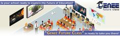 Genee Future class includes highly illustrative multimedia applications and interactive software from pre primary to intermediate level to take your students into the world beyond books, where whatever they learn with the help of real time videos, animations, images and graphics becomes more than just lessons…