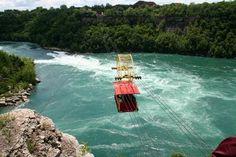 Niagara Falls, Canada: The whirlpool aerocar.