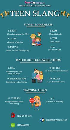 Terms Parents Need To Know - Teen Slang Slang English, English Idioms, English Phrases, Learn English Words, English Lessons, English Learning Spoken, Teaching English Grammar, English Writing Skills, English Language Learning