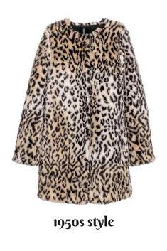 Lovely faux fur leopard skin. Purrrrr #1950sstyle #ad #leopardprint #everydaychic