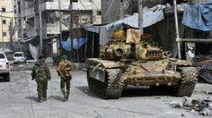Het leger van dictator Assad veroverde in december 2016 met steun van Russische bombardementen en extra manschappen uit Iran Aleppo terug ten koste van de rebellen. Sinds de uitbraak van de protesten tegen Assad tijdens de Arabische Lente in maart 2011 werd er zwaar gestreden om Aleppo. Na vijf jaar verliezen de door het Westen gesteunde rebellen de controle over de tweede grootste stad in Syrië.