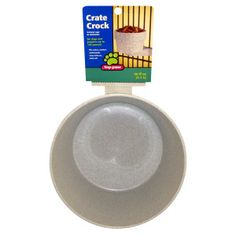 Top Paw Crate Crock Dog Bowl | Food & Water Bowls | PetSmart-$13.59