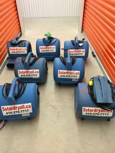 *Equipment Rental for Drying Free pickup and delivery Air mover Dehumidifier Air Scrubber
