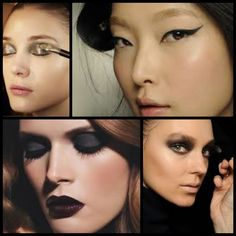 Fall Makeup Trends collage